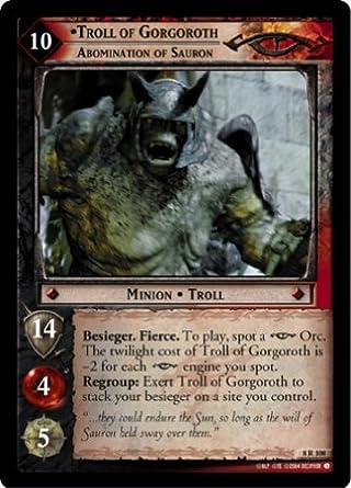 LOTR TCG Siege Engine 5U60 Battle of Helm/'s Deep Lord of the Rings MINT FOIL
