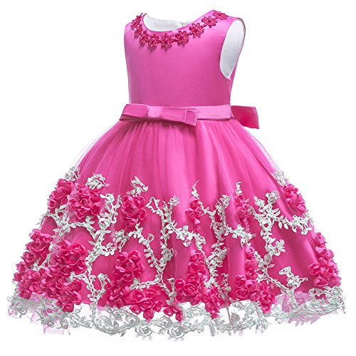 05a96f27fc77 1st Birthday Party Princess Toddler Baby Girls Baptism Petal Dress ...
