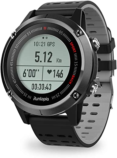 Amazon.com: runtopia S1 Outdoor Running GPS Smart Watch with ...