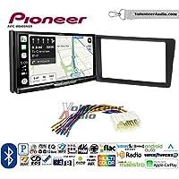 Volunteer Audio Pioneer AVIC-W8400NEX Double Din Radio Install Kit with Navigation, Apple CarPlay and Android Auto Fits 2001-2005 Honda Civic