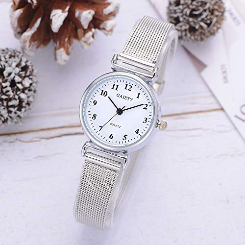 Valentine's Best Gift!!!Kacowpper Women's Casual Quartz Mesh Belt Watch Analog Wrist Watch ()