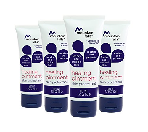 (Mountain Falls Healing Ointment Skin Protectant for Dry and Cracked Skin, Hypoallergenic, Compare to Aquaphor, 1.75 Ounce (Pack of 4))