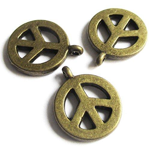 Brass Lock Charms - 4
