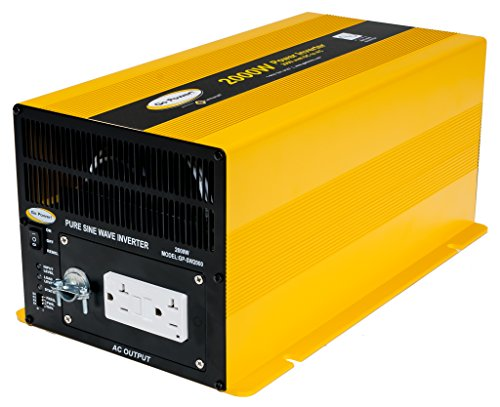 Go Power! GP-SW2000-12 2000-Watt Pure Sine Wave Inverter by Go Power!