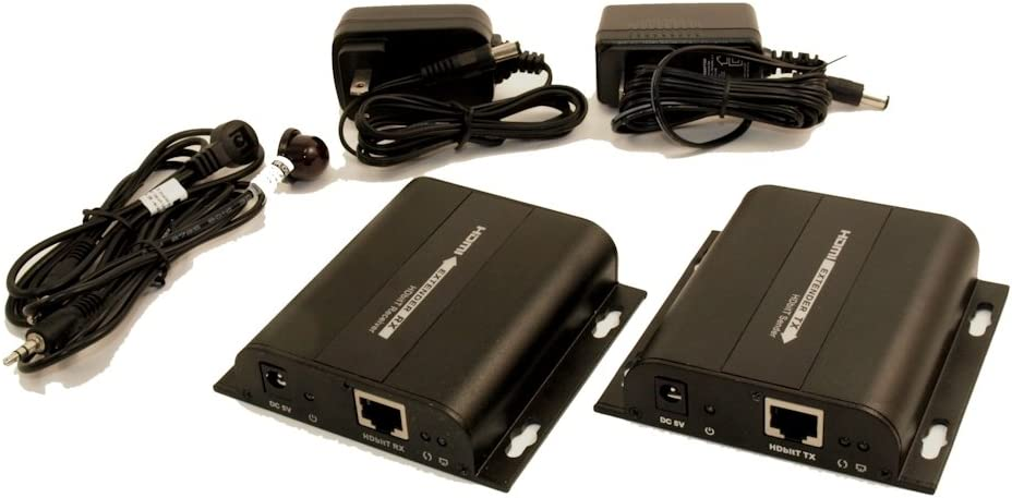 MyCableMart HDMI Over Single Cat6 Network Cable Extender Kit to 300ft w//IR Control