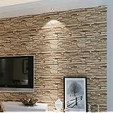 YC Sala de estar retro imitación ladrillo piedra grano fondos 3D TV pared papel ropa tienda proyecto Hotel wallpaper , 08141#