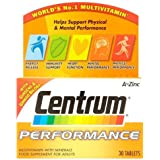 Centrum Performance A-Z Multivitamins with Minerals, 30 Tablets