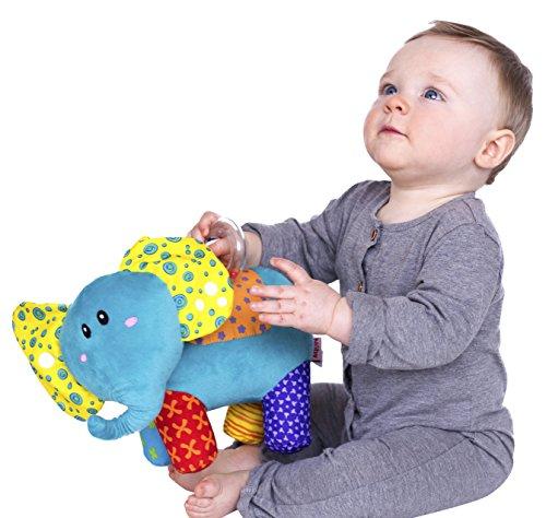 Nuby Elefuntastic Plush Activity Toy, Elephant