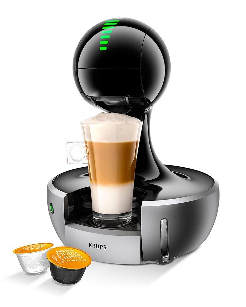 1500 W Krups KP350B40 NESCAF/Ã/ƒ/Â/‰ Dolce Gusto Drop Touch Silver Coffee Machine by
