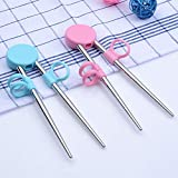 1 Pair of Chopsticks with Silicone Rings