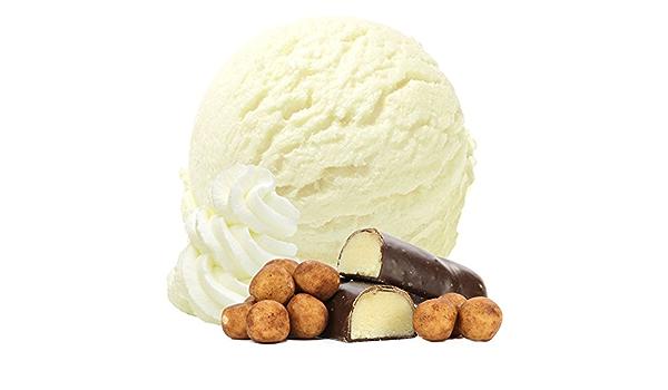Sabor de crema de mazapán 1 Kg Helado de Gino Gelati helado suave en polvo para su máquina de helados