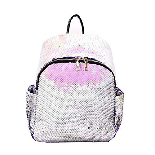 Herald Fashion Sequins Backpacks For Teenager Girls Shine Backpack Female Glitter Large Girls Travel Shoulder Bags School Bag Blue -