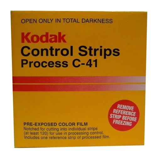 Kodak C-41 Processing Control Strips, 35mmx100' Roll, Contains Approximately 120 Exposures by Kodak