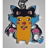 Pokemon Pikachu Cosplay Mega Charizard Keyring Keychain Key Chain