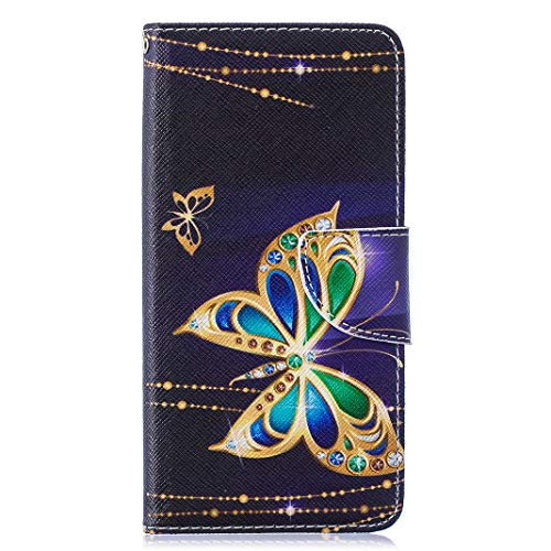 Case for Galaxy S10 Plus,Leather Flip Wallet Cover for Samsung Galaxy S10 Plus,Full Protection Case for Samsung Galaxy S10 Plus with Kickstand/Magnetic Closure/Card Slots