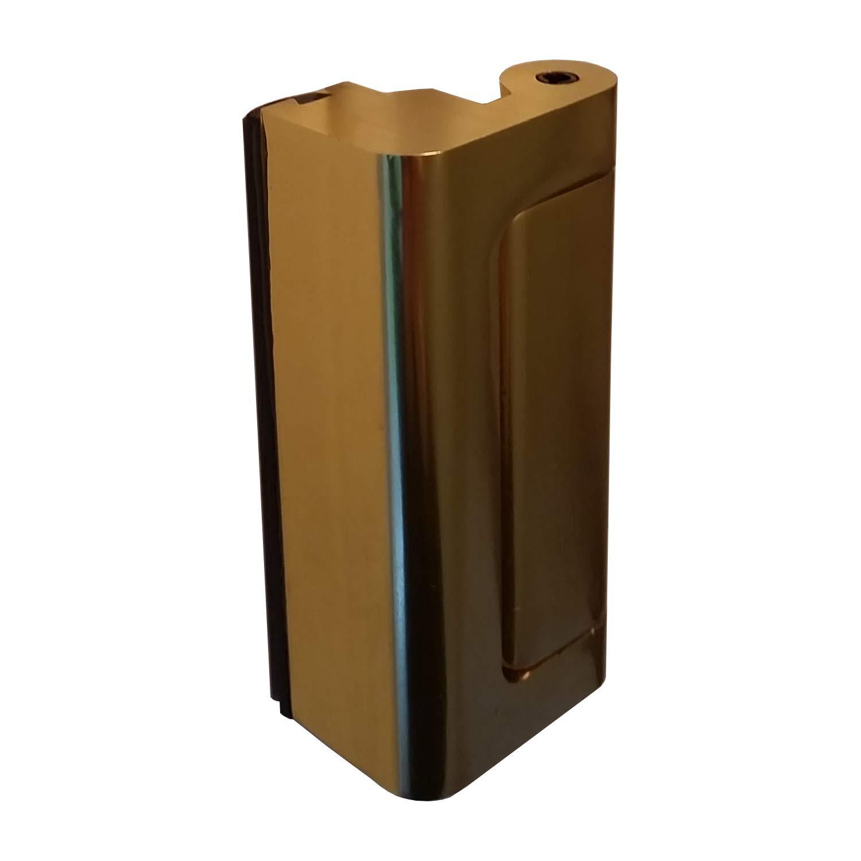 2 x Viper Door Lock Chrome - 12 x stronger than a conventional dead bolt