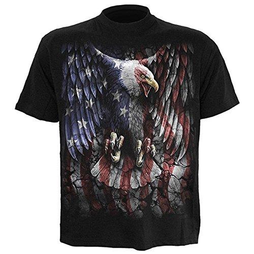 Spiral Herren T-Shirt USA Adler - Liberty Eagle
