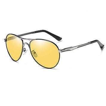 YHgiway Gafas de Sol de Hombres Aviador fotocrómico ...