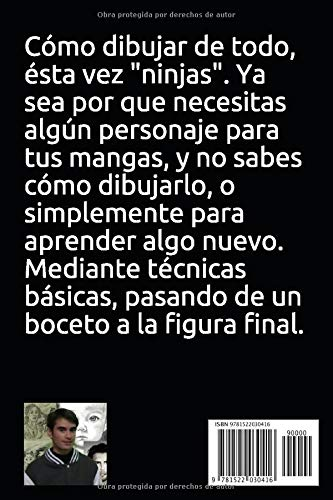 Como dibujar de todo-ninjas-: dibujo (Spanish Edition): jose ...