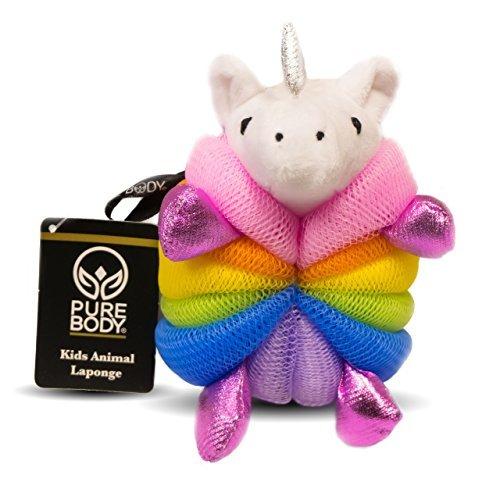 Kids Character Mesh Bath Sponge, Unicorn