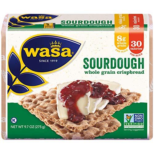 (Wasa Sourdough Crispbread, 9.7 Ounce (Pack of 12))