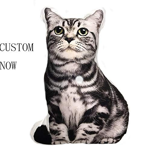 repin Personalized Photo Pillow Single-Sided Duplex DIY cat and Dog Shaped Pillow Birthday 20 X 20 50cmX50cm