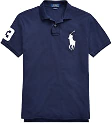 3b08808e2f4 Ralph Lauren Polo Poloshirt Big Pony CSF Weiss