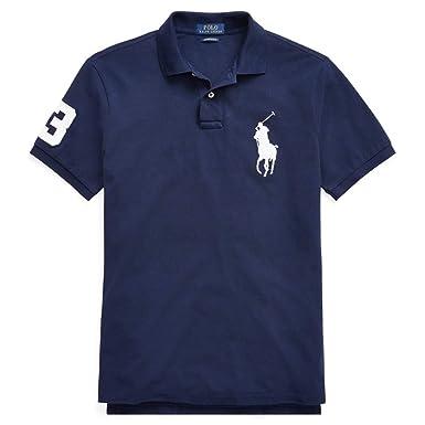 quite nice 01d40 98683 Ralph Lauren Polo Poloshirt Big Pony CSF Navy