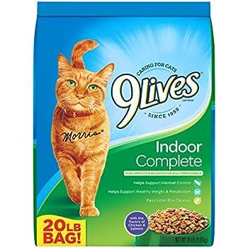 9Lives 20 lb Indoor Complete Dry Cat Food, Large
