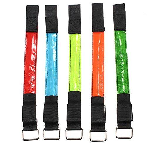 LED bracelet brassard clignotant PhilMat bande réfléchissant d'enrubannage bras ceinture antistatique Sécurité Aqq0Cw
