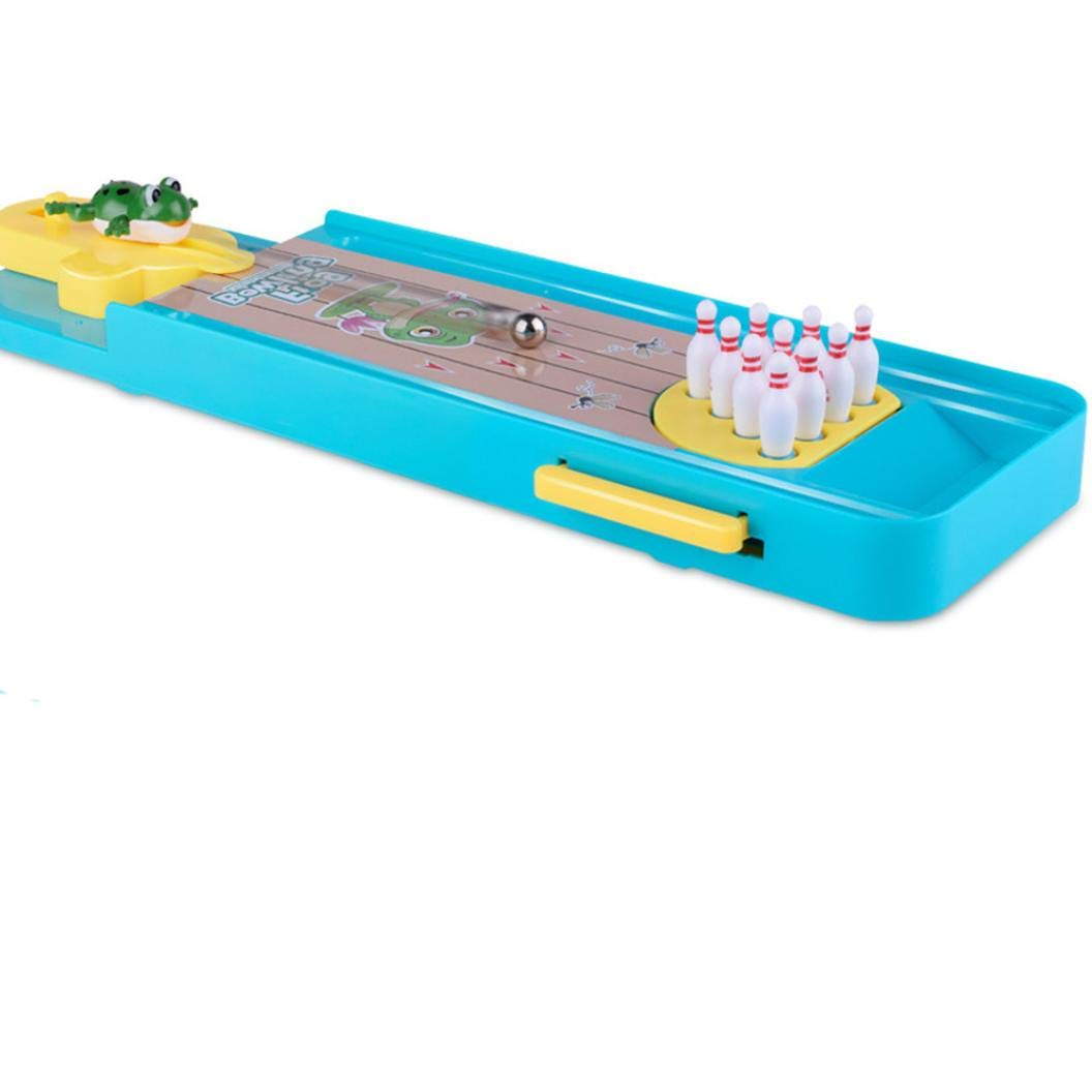 Kanzd Novelty Funny Indoor Game Gas Out Board Game Desktop Games Toy Bowling Kid (A) by Kanzd (Image #5)