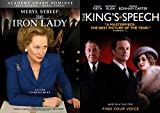 Margaret George The Kings Speech & Iron Lady Thatcher Double Feature DVD British Rule Set
