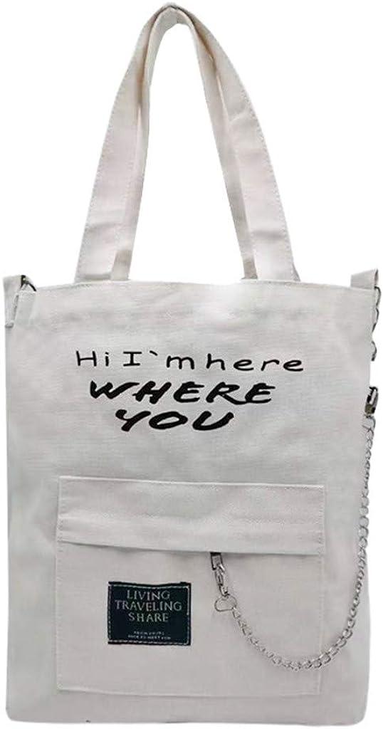 NOMENI Canvas Bag Shoulder...