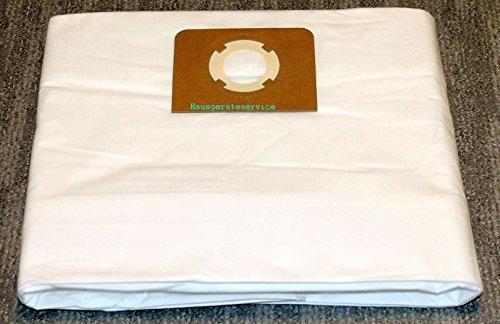 10x bolsas para aspirador tejido Wurth ISS 35 S