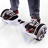Crony D1 Smart Two Wheel Self Balancing Electric Scooter LED light ,white