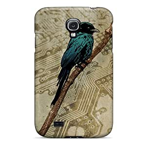 High-quality Durable Protection Case For Galaxy S4(bird Art)