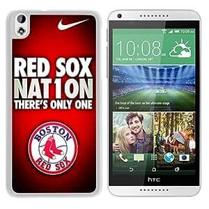 Popular HTC Desire 816 Case, Beautiful Designed Case With Boston Red Sox White HTC Desire 816 Cover