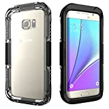 MPTECK Black Waterproof Shockproof Dirt Snow Proof Durable Protective Hard Case Cover For Samsung Galaxy S7 Edge S VII edge G935 G935F G935FD 5.5""