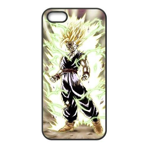 Dragon Ball Z RO25FT2 coque iPhone 4 téléphone cellulaire 4S cas coque U5TY7B8JP