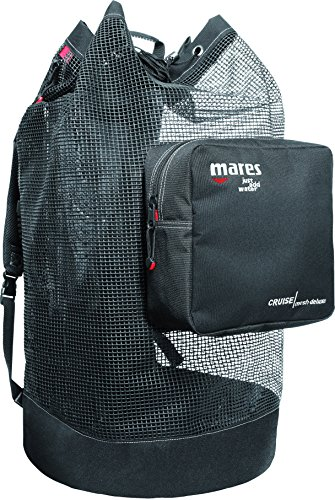 (Mares Cruise Backpack Mesh Deluxe Bag, Black)