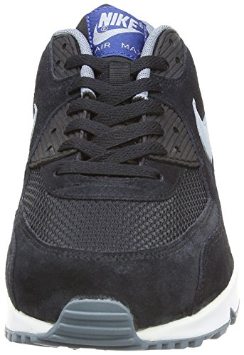 Nike  Air Max 90 Essential - Zapatillas para hombre Negro - Black/Dove Grey/Gym Blue/Blue Graphite