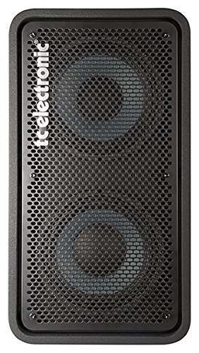 TC Electronic RS 210 Bass Cabinet with 2x10 Woofers Plus 1 Tweeter Rated 400W at 8 Ohms by TC Electronic