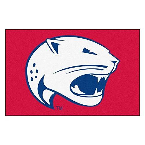 FANMATS NCAA University of South Alabama Jaguars Nylon Face Starter Rug by Fanmats by Fanmats