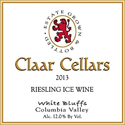 2013 Claar Cellars Columbia Valley Riesling Estate Ice Wine 375 mL