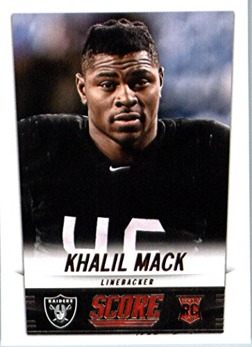 393 Mint (2014 Score Football Rookie Card IN SCREWDOWN CASE #393 Khalil Mack MINT)