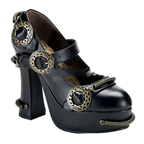 Demonia Demon-29 - gothique punk plateau chaussures femmes 36-43
