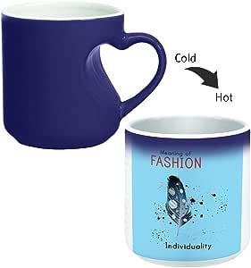 كوب ماجيك مع مقبض داخلي للقهوة أو الشاي من ديكالاك، Mug HM-BLU-03173