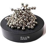 BAA SHOP Magnetic Sculpture Desk Toy for Intelligence Development and Stress Relief (Set of 171 Balls, 1 Magnet Base)