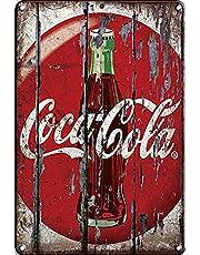 Tin Metal Sign Cola Coke Funny Wall Decor Art 8x12