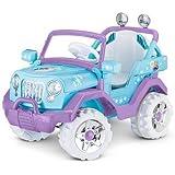 Disney Frozen 4X4 Jeep 6V KT1205 Ride On, Blue